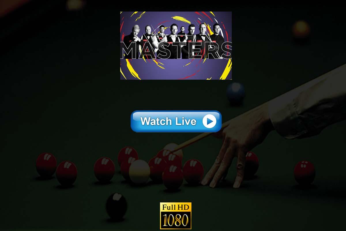 Masters snooker live streaming Reddit