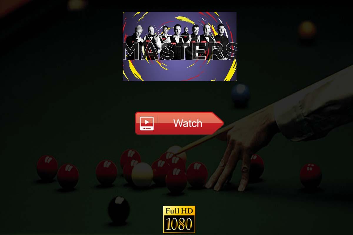 Masters snooker live stream Reddit