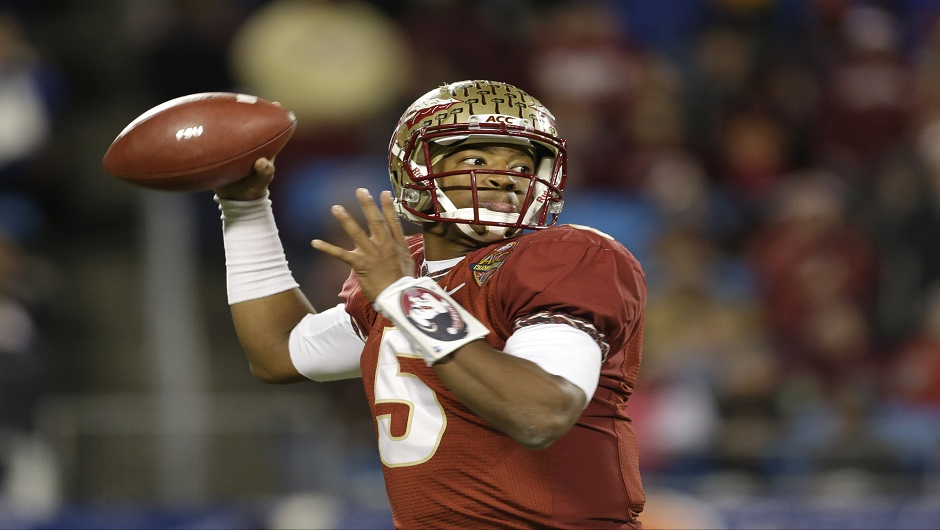 Jameis Winston's Seminoles enter the national championship favored over their SEC foes.