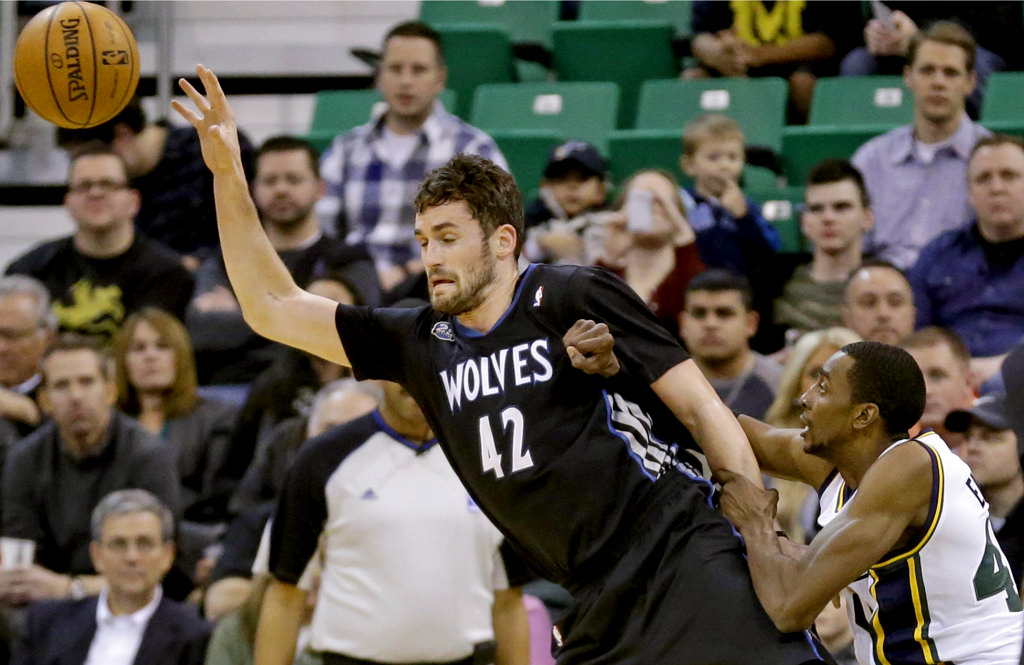 Kevin Love is an All-Star, but should he be? (AP Photo/Rick Bowmer)