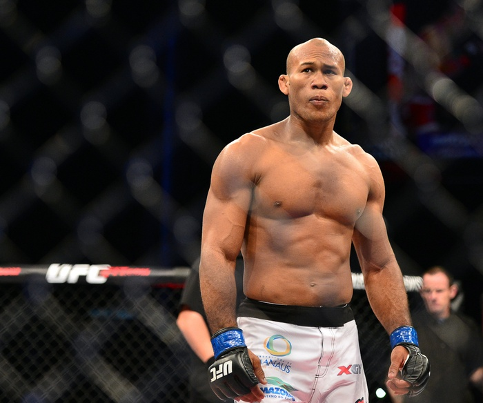 Jacare Tests Positive for COVID-19; UFC 249 Still a Go