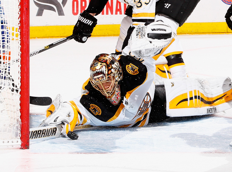 Rask Snaps, Bruins Win Game 1