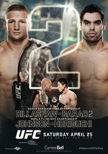 dillashaw vs barao 2 fight card