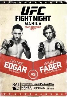 edgar vs faber fight card