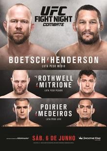 ufc fight night: boetsch vs henderson fight card