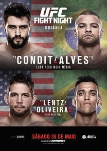 ufc fight night: condit vs alves fight card