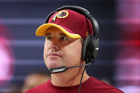 Redskins' Jay Gruden sucks at firsts.