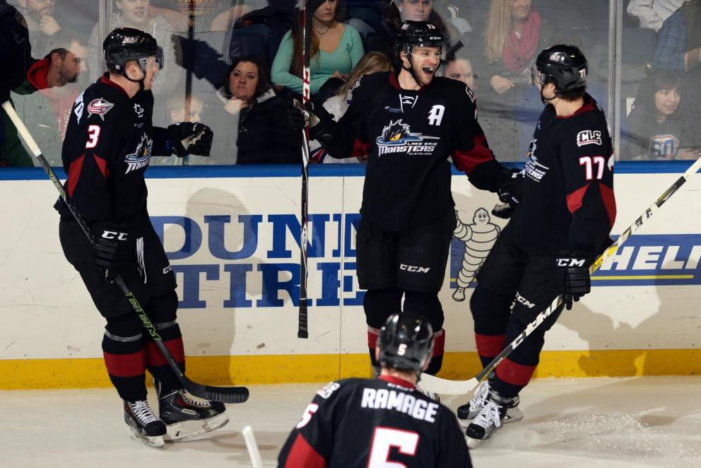 Zach Werenski's First Goal - Photo Courtesy of Lake Erie Monsters