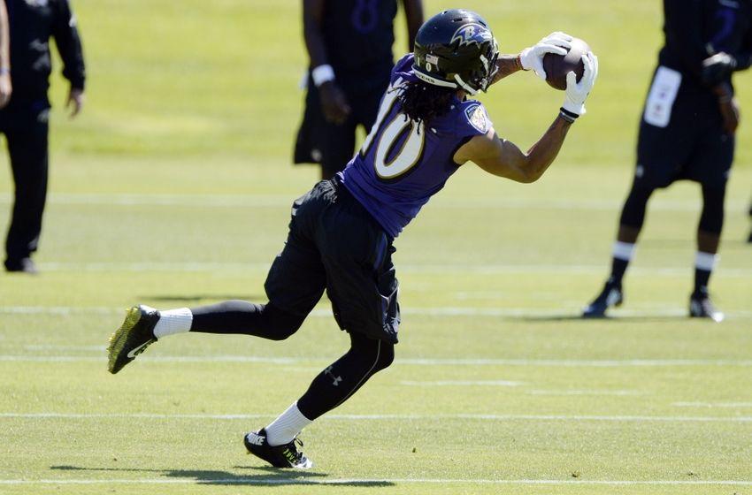 Ravens begin practice for real...
