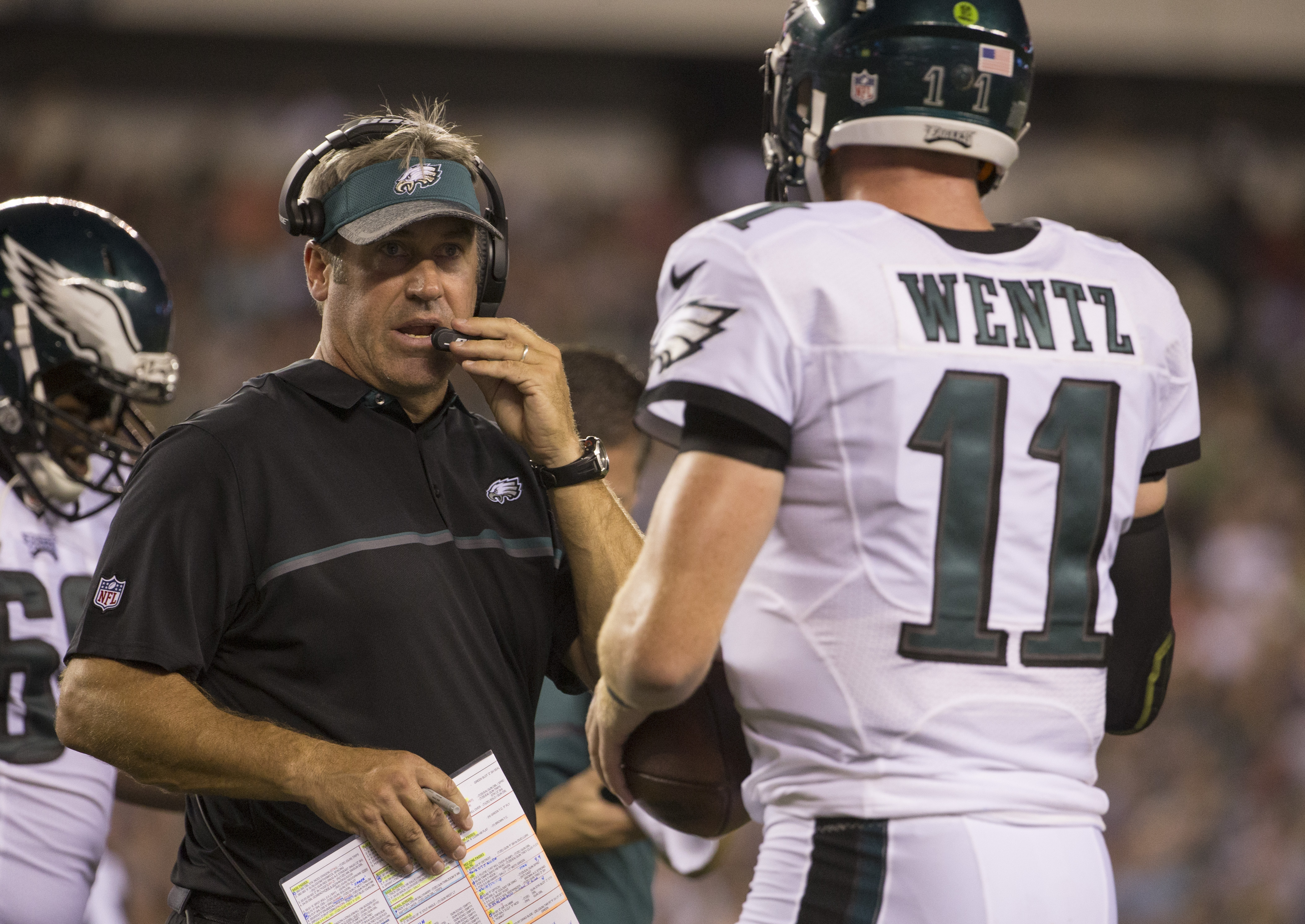 Eagles fall apart in 27-17 loss to Washington