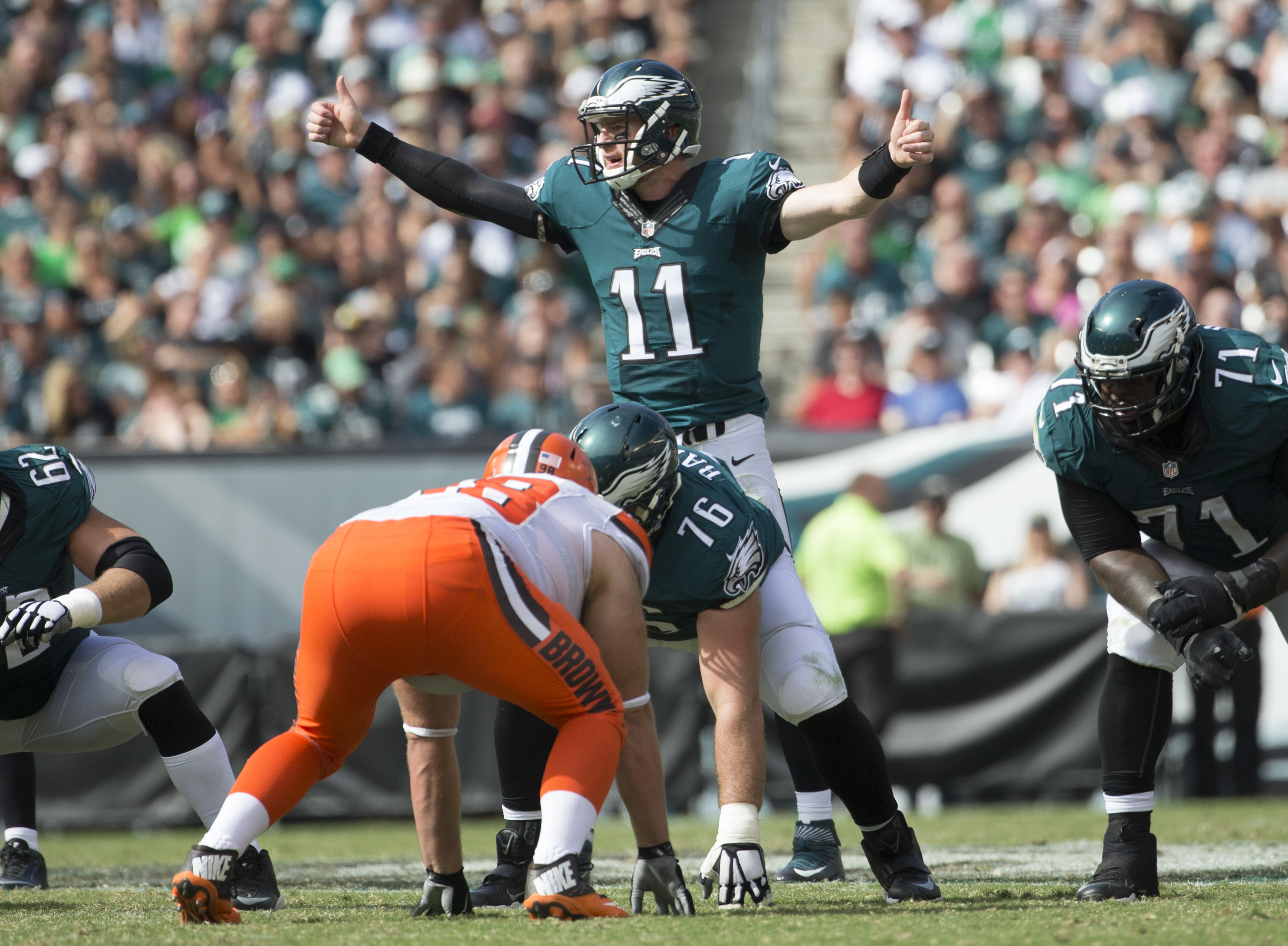 Eagles need a complete winning effort over Browns to change momentum