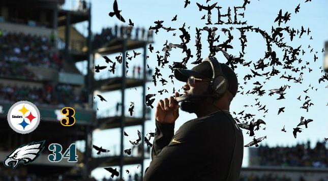GAME RECAP: The Birds (Steelers Lose)