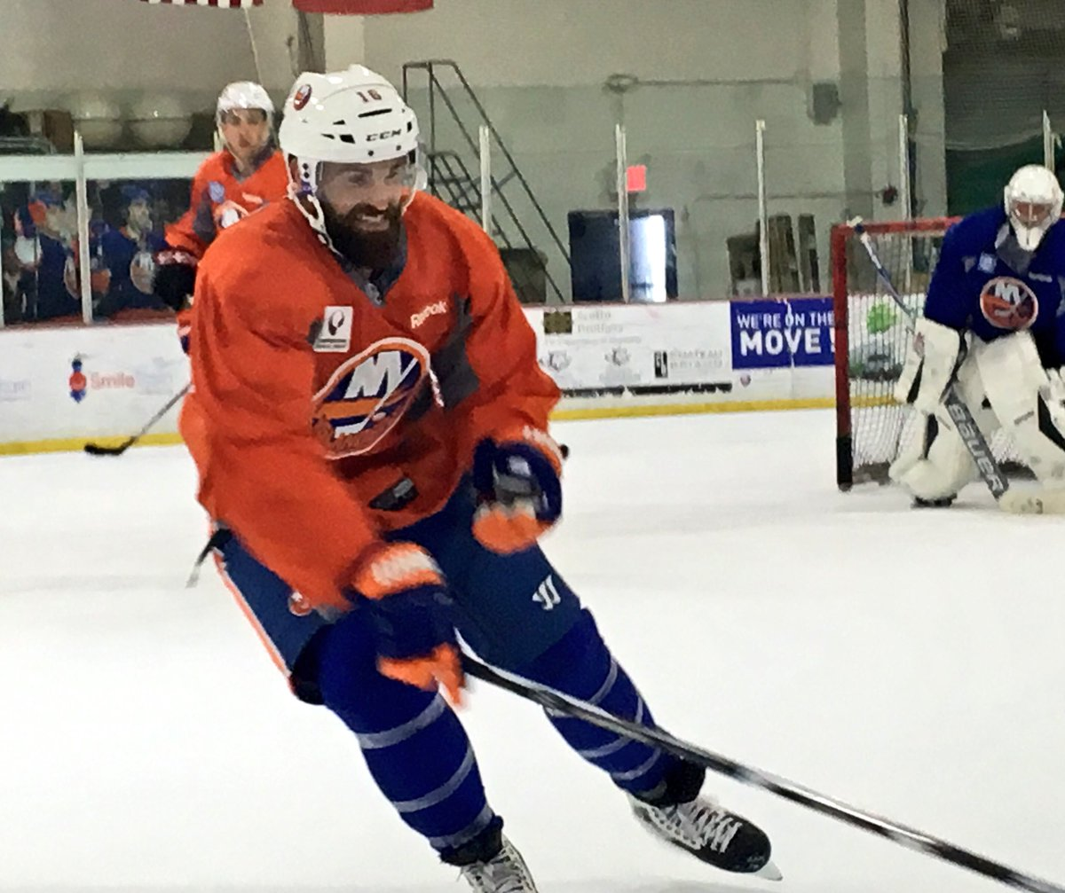 Andrew Ladd. Image Property of the New York Islanders
