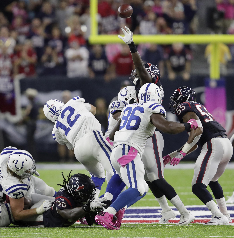 Colts 4th & 1 Struggles