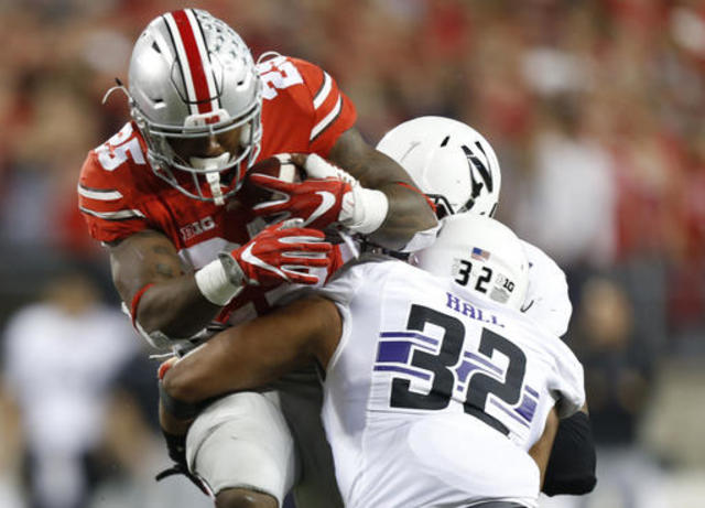 Game Highlights: Northwestern 20 Ohio State 24