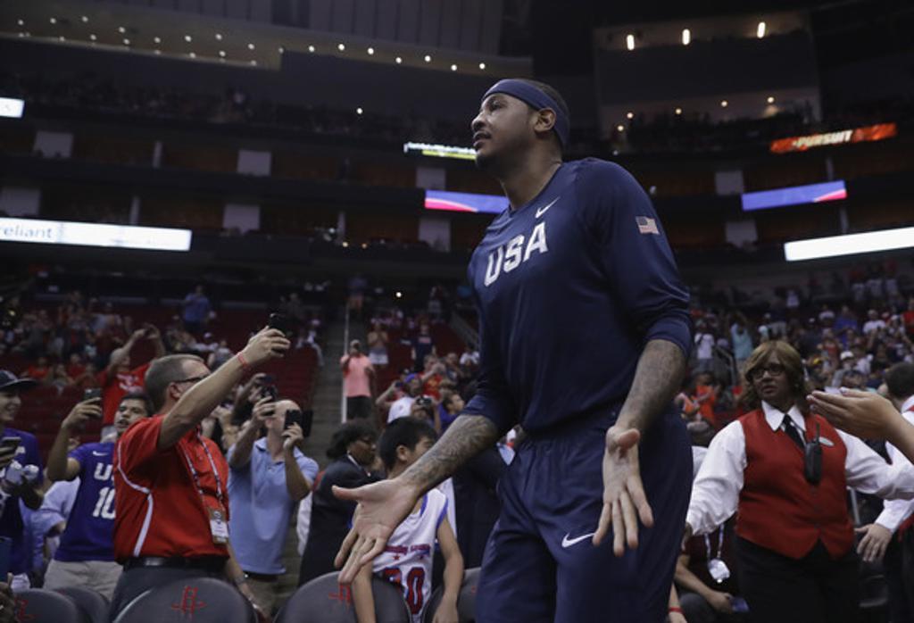 Team USA defeats Nigeria, completes showcase sweep