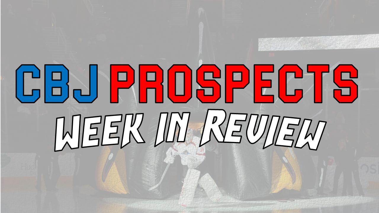 Oct 10-16 CBJ Prospect Week in Review