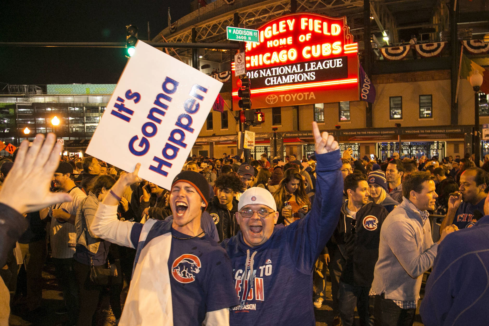 For The First Time In 71 Years, The Cubs Are NL Pennant Winners