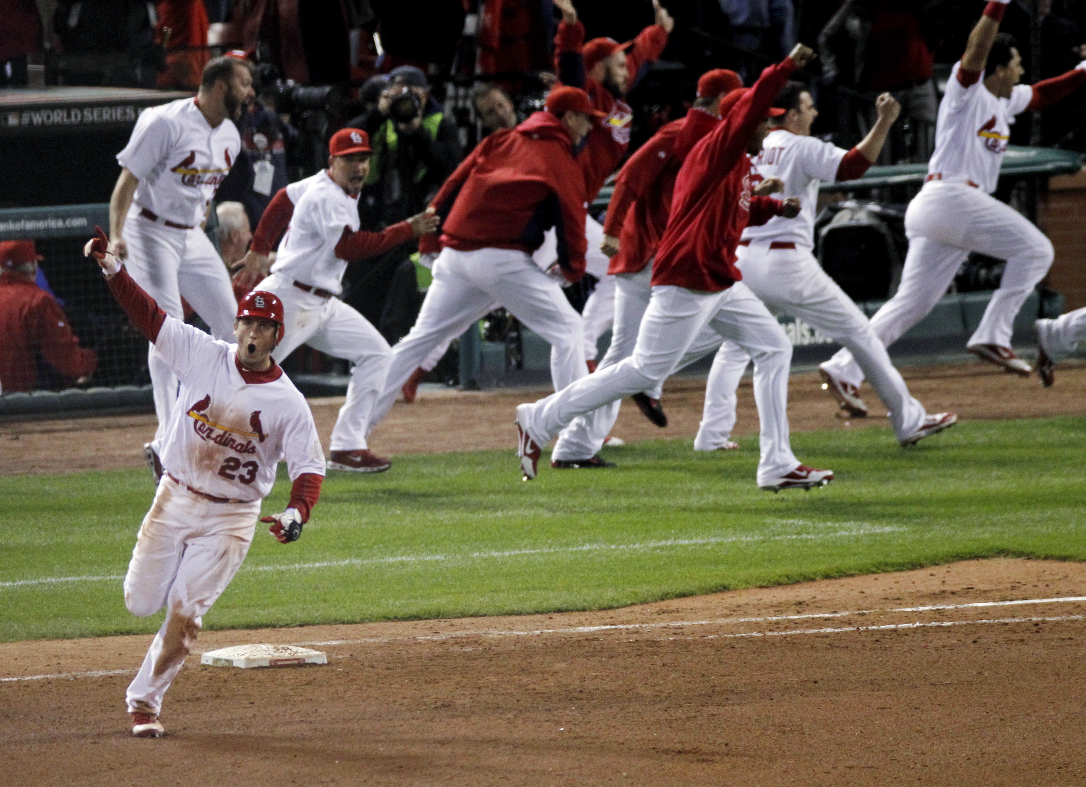 5 Years Ago Today, David Freese Became A Cardinals Legend