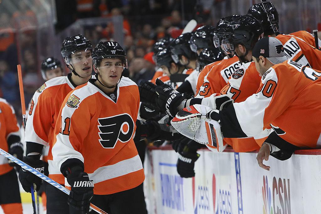 "Konecny's ""humility"" earning him respect around Flyers"