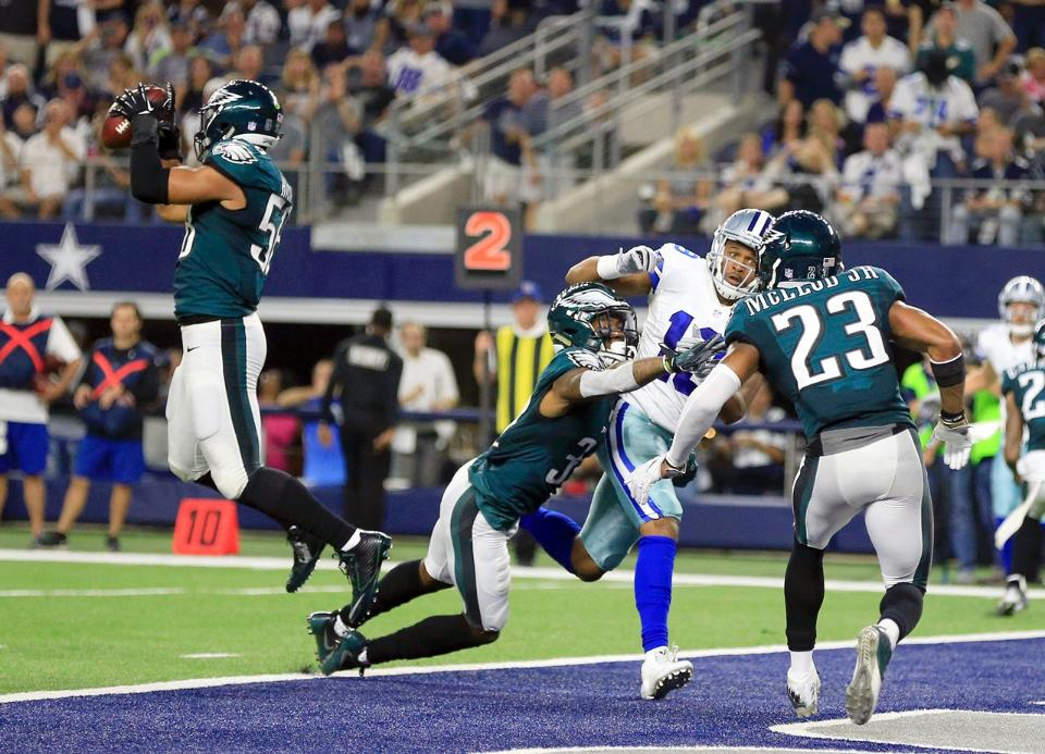 Eagles Fall to the Cowboys