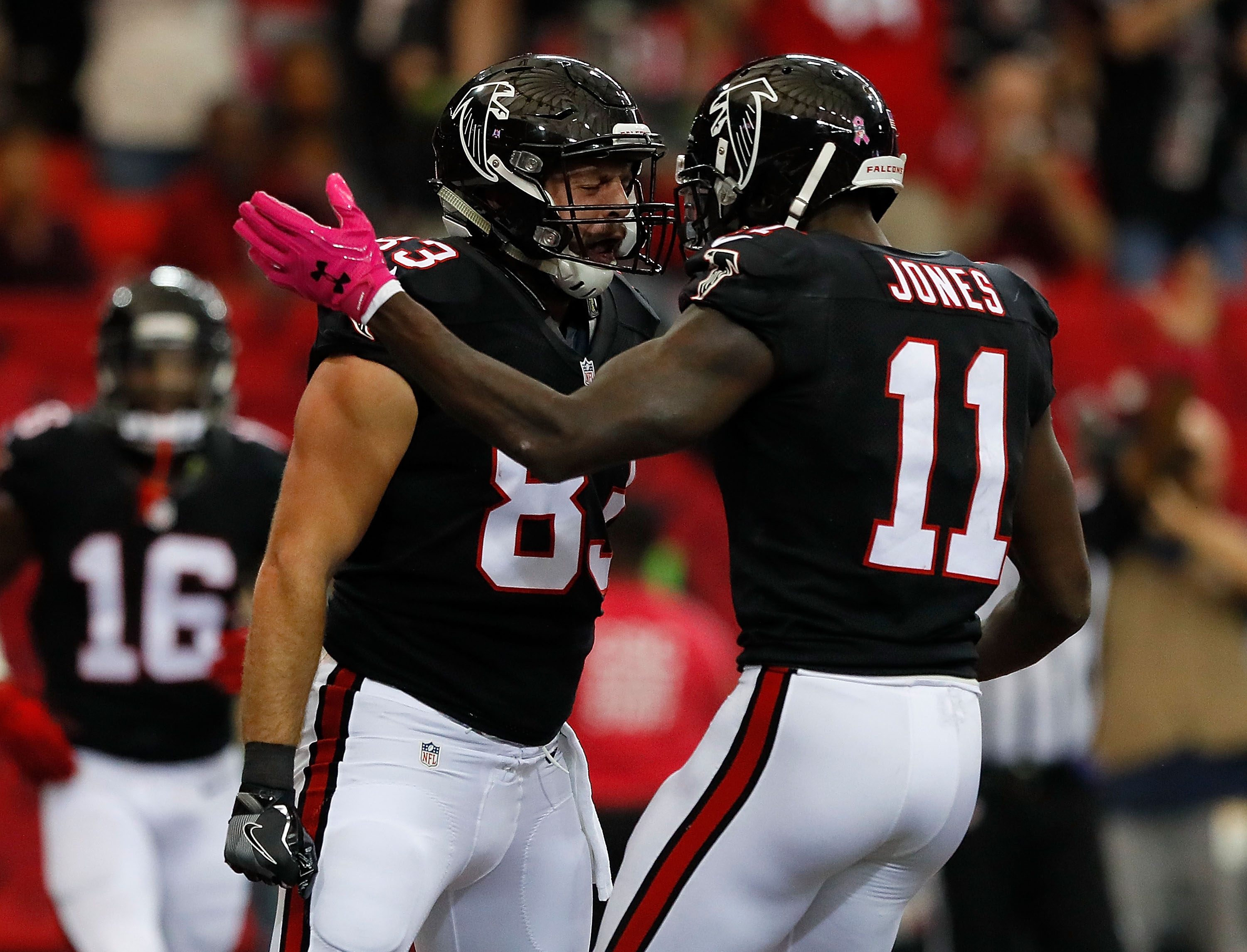 Falcons don't need to worry about Patriots taking away Julio Jones