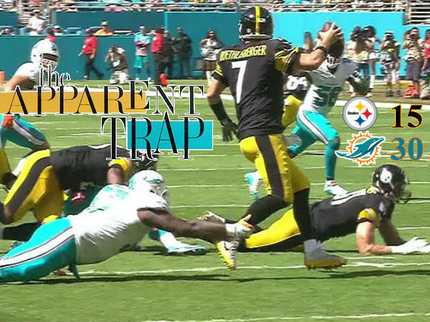 Steelers-Dolphins GAME RECAP: The Apparent Trap
