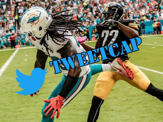 Steelers-Dolphins Tweetcap