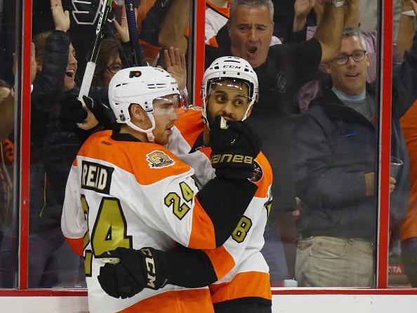 The Flyers have a new lucky charm... Matt Read