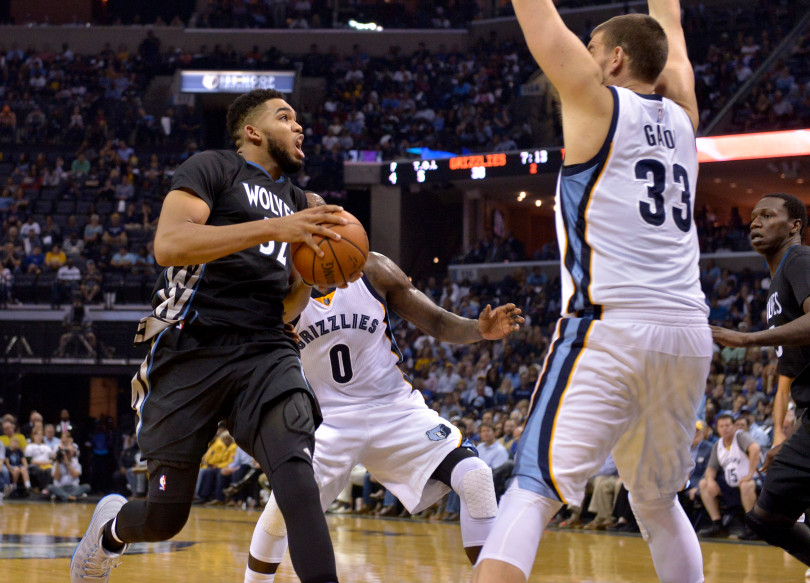 Wolves Start Strong, End Sloppy. Memphis Wins 102-98