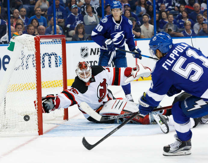 Game 2: Comeback Kids Do It Again - Bolts Beat Devils 3-2