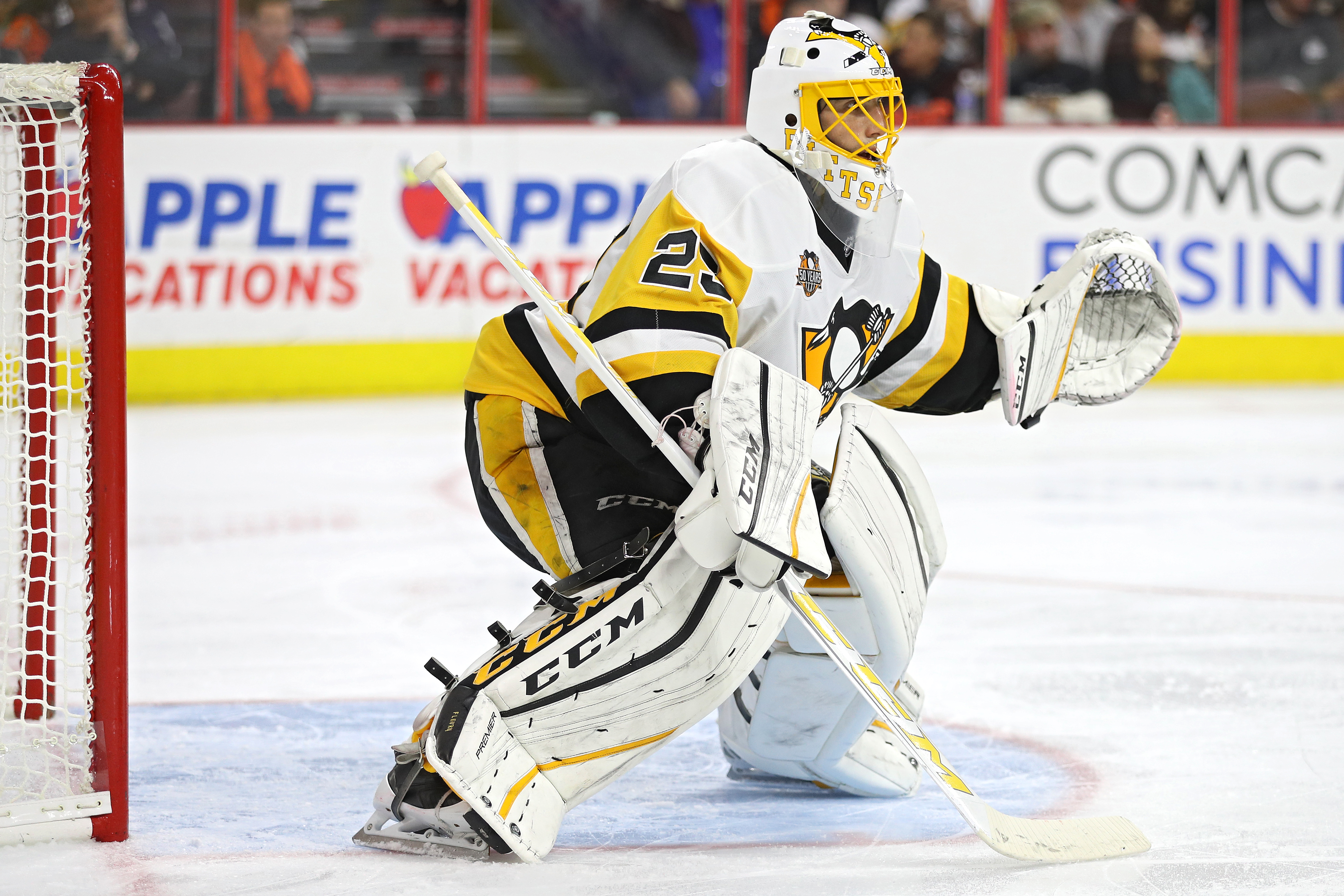 How Do The Penguins Play In Front of Each Goaltender?