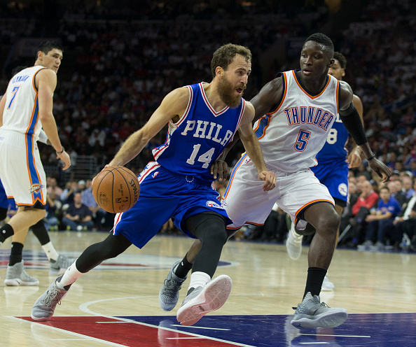 Sergio Rodriguez has been a pleasant surprise for Sixers