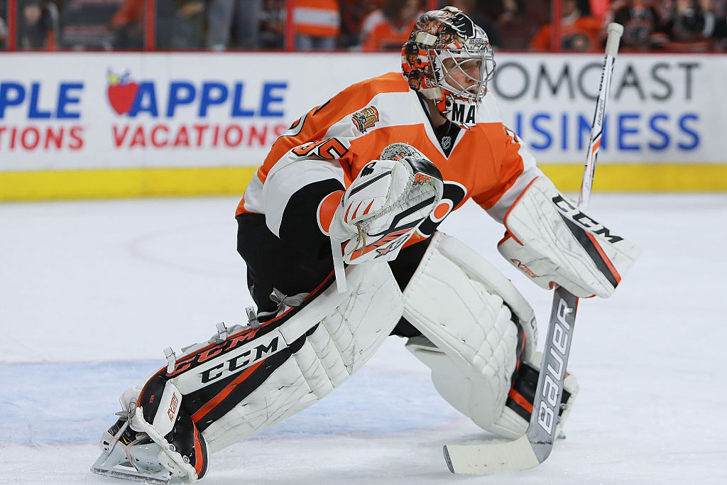 Mason ready to claim Flyers No. 1 goalie spot