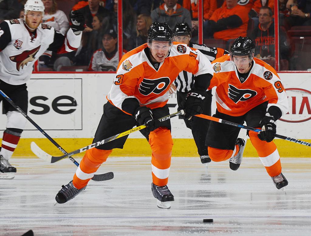 Flyers send Lyubimov, Laughton to AHL
