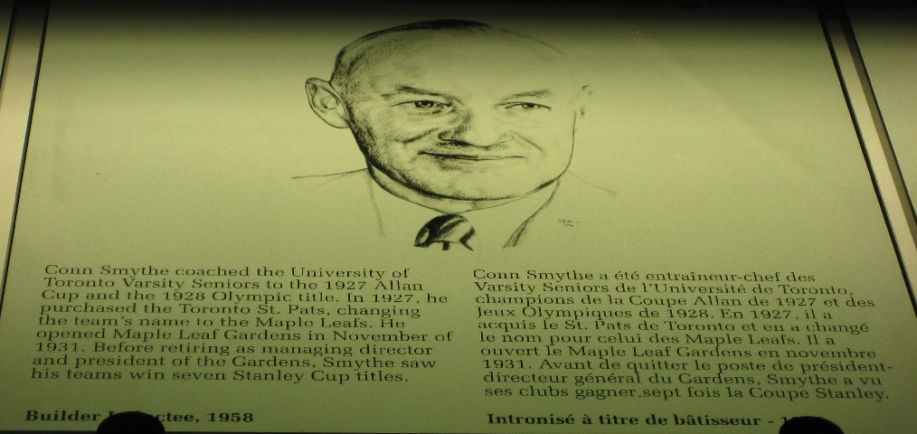 Conn Smythe: Hockey builder, veteran of both World Wars