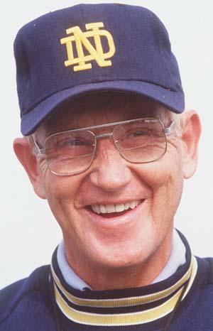 Former Notre Dame head coach Lou Holtz tests positive for coronavirus