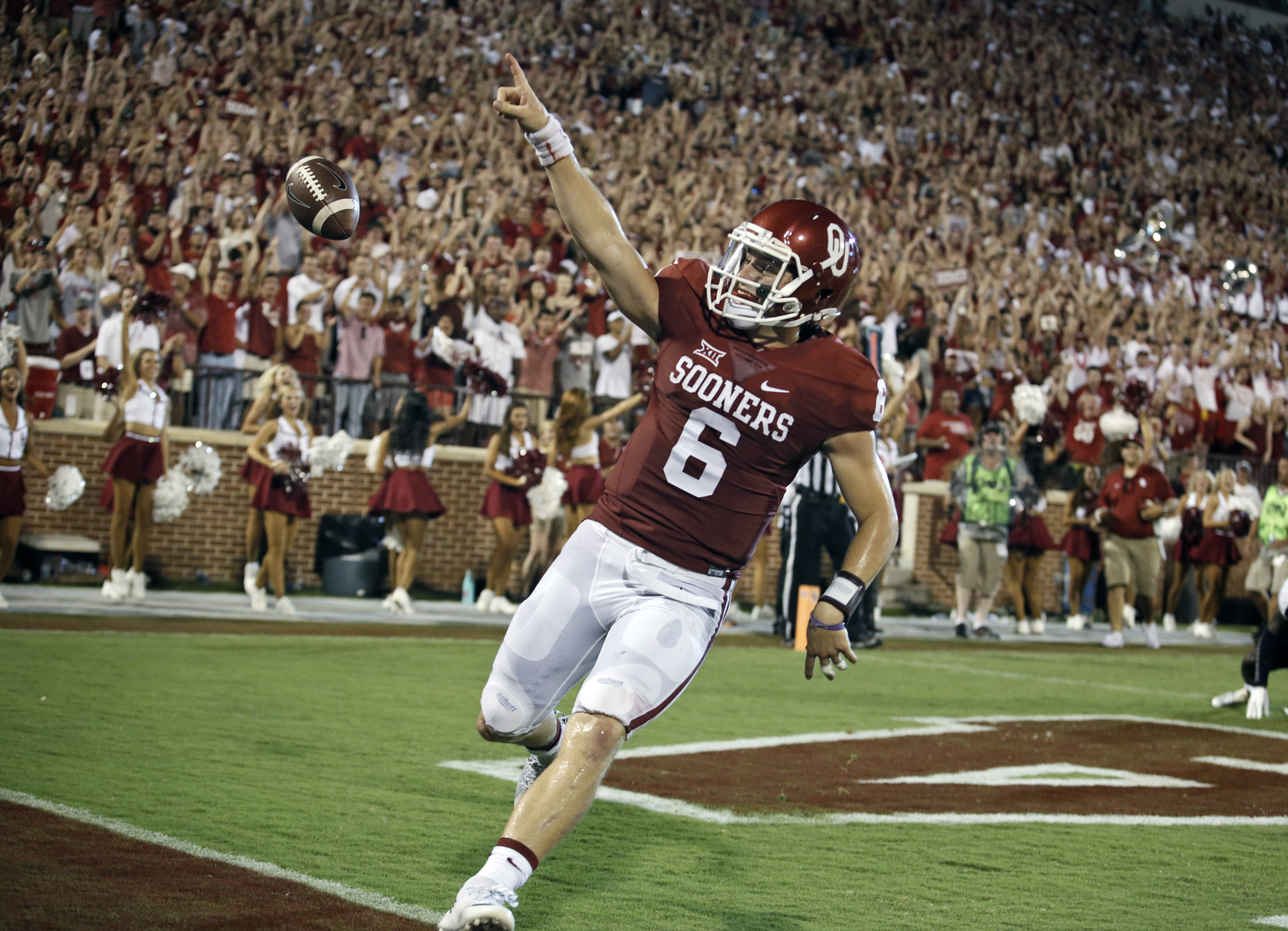 Oklahoma QB Baker Mayfield Returning For Senior Season