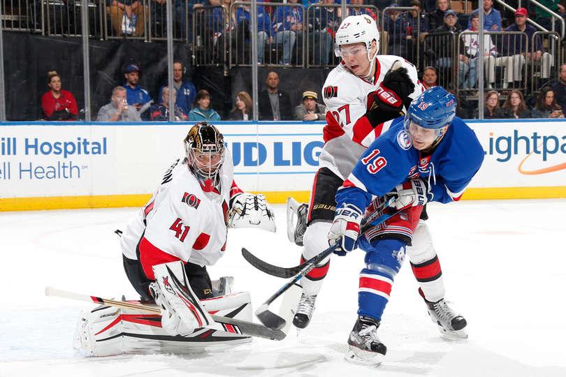 Game 37: Rangers vs. Senators Gameday Thread