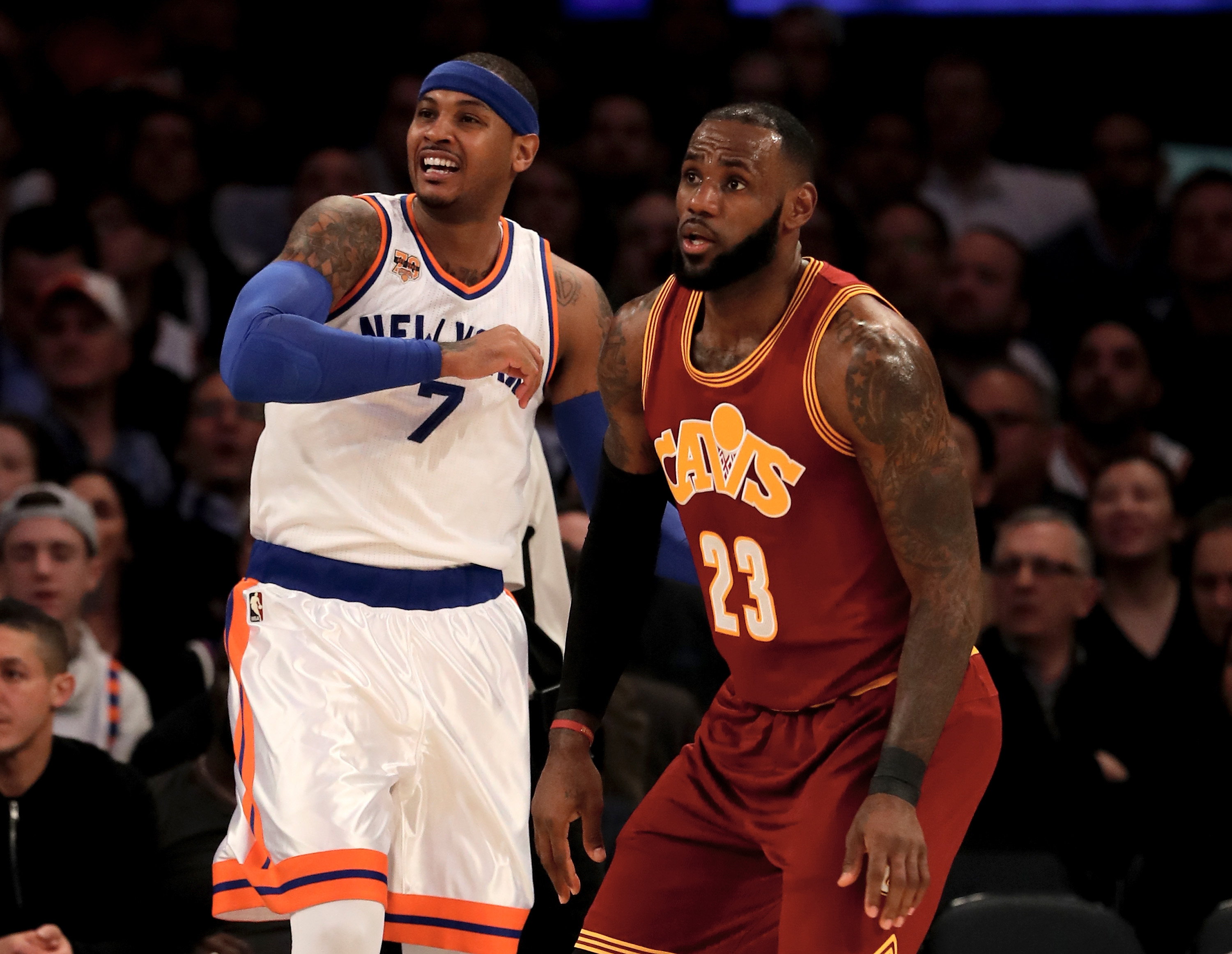 Carmelo Anthony says he and Paul George were set to join Cavaliers