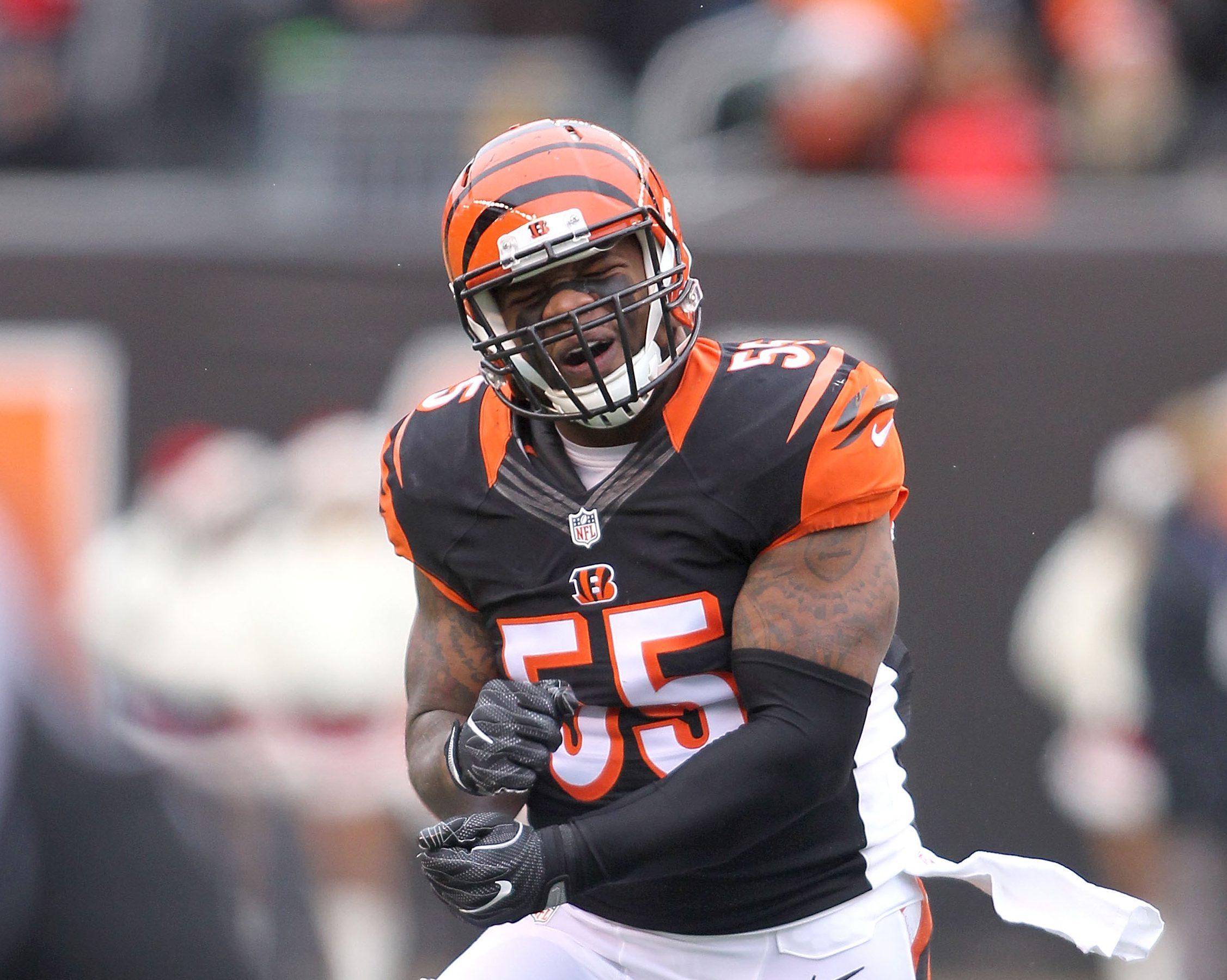 Bengals release veteran linebacker Vontaze Burfict