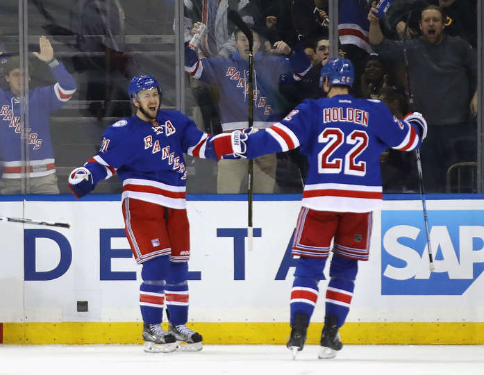 Rangers Stage Comeback to Beat Senators