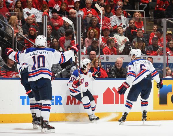Team USA Beats Canada 3-1 in WJC