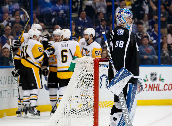 Game Recap: Penguins Score Three Unanswered To Down Bolts 4-3