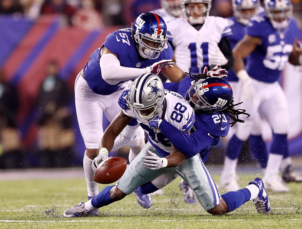 Giants Sweep Cowboys in 10-7 Win