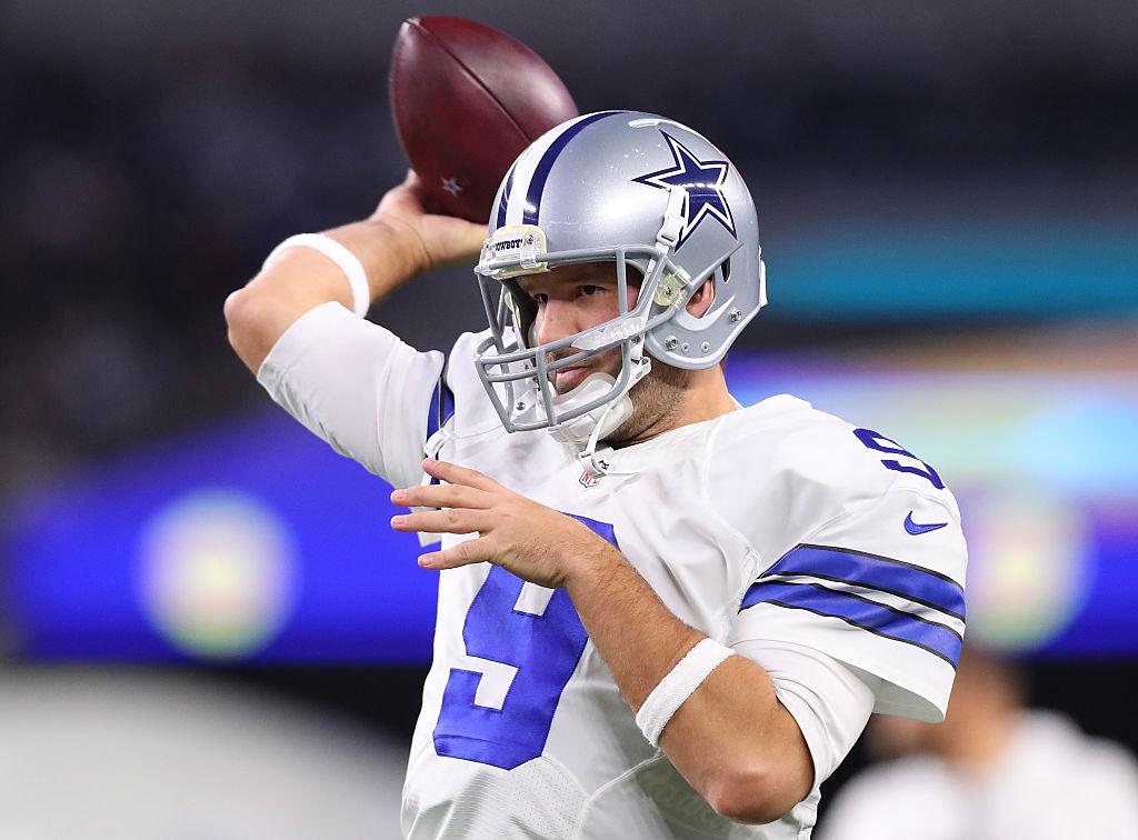 Supposedly Tony Romo May Play Sunday