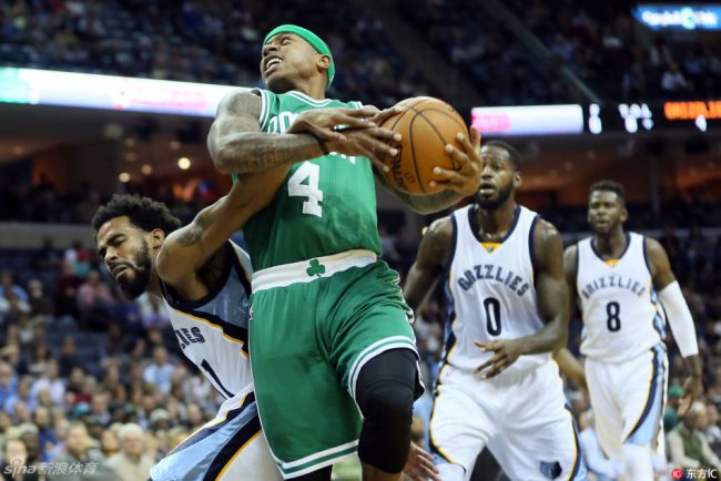 Recap: Celtics enter bear fight in Memphis, survive thanks to small killer
