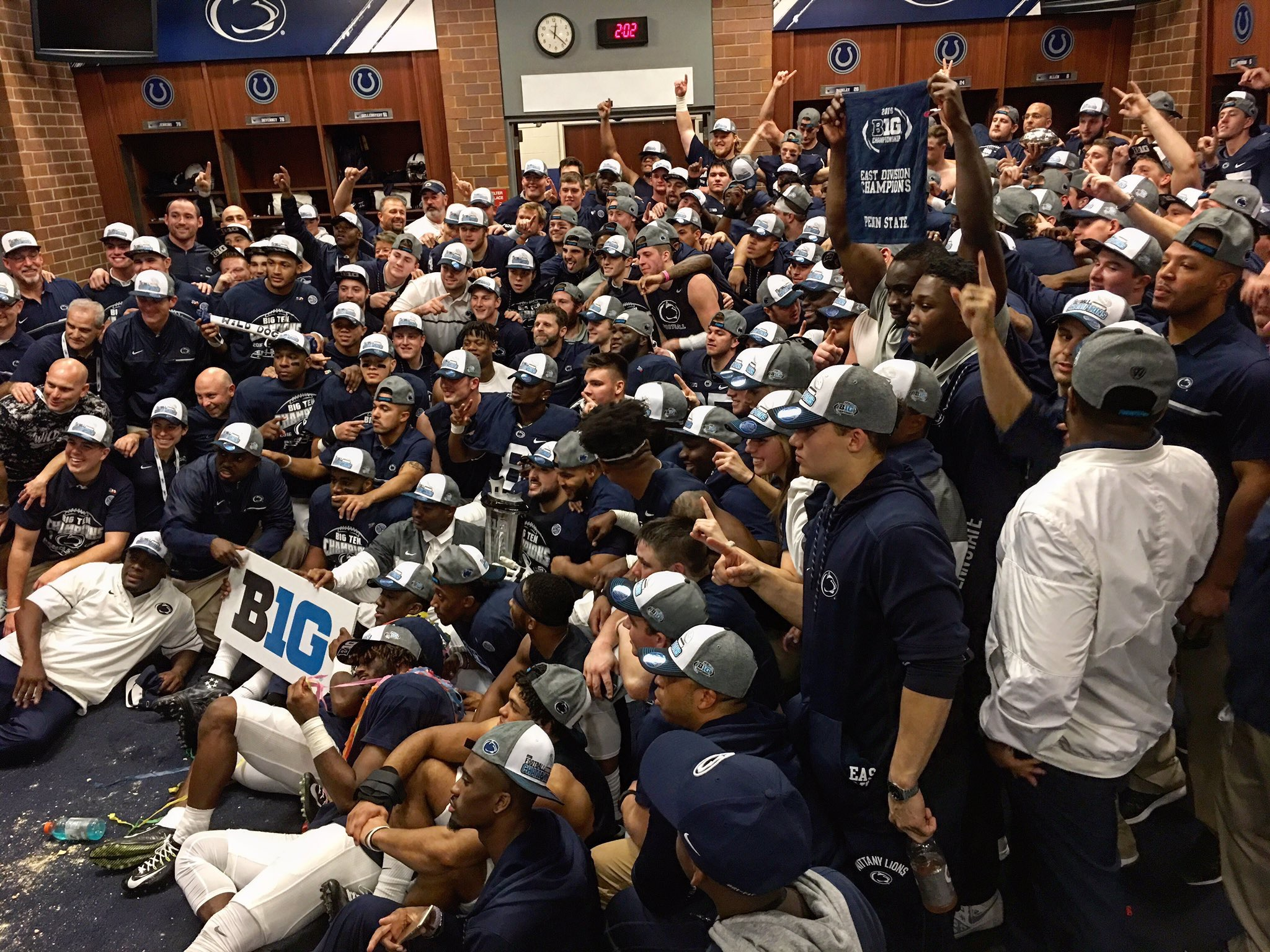 McSorley's Record Day Leads PSU Comeback for Conference Title