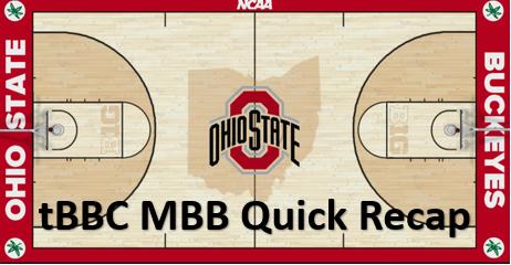 tBBC Ohio State Men's Quick Recap: Buckeyes Escape Mauling By Bulldogs