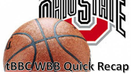 tBBC #12/13 Ohio State Women's Quick Recap: Wallops Winthrop